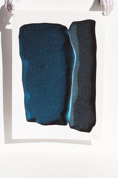 Natasha Madeiski Blue Drift art