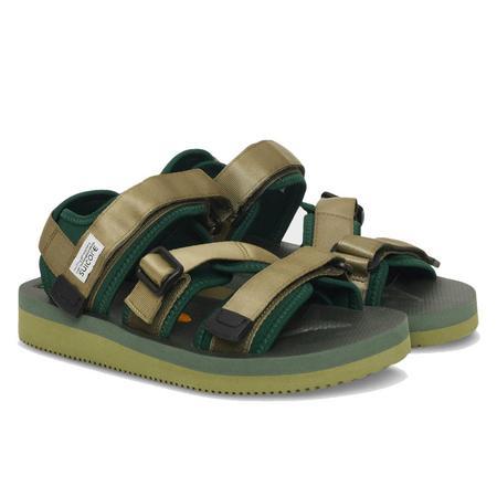 Suicoke Kisee-V shoes - Forest Green