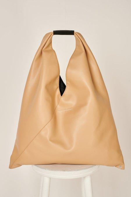 MM6 Maison Margiela Japanese eco leather tote bag - Beige