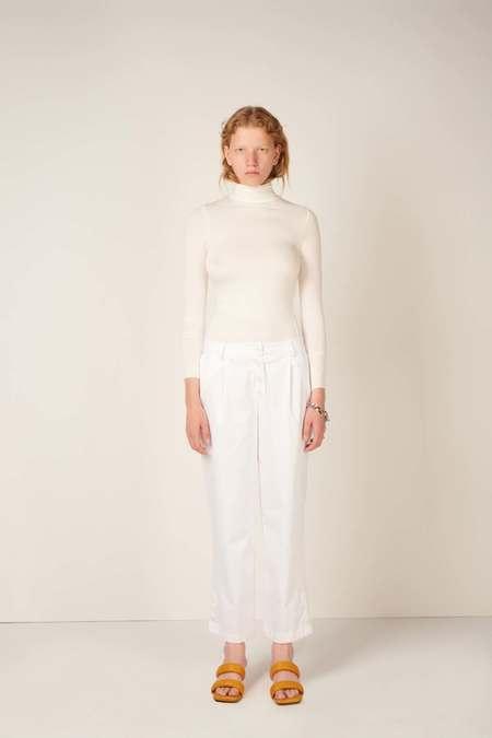 MEUF Long sleeve turtleneck - White