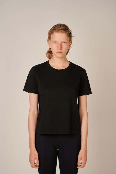 MM6 Maison Margiela Round neck T-shirt - Black