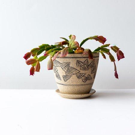 Ariane Boudreault-Lambert Mishima Plant Pot With Saucer