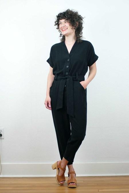 COKLUCH Escoumins Jumpsuit - Black