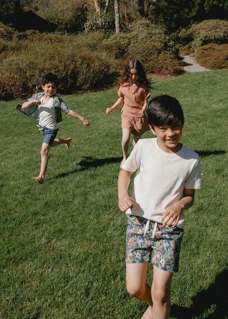 kids Petits Vilains Rémi Beach Short - Jungle
