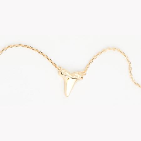 Shashi Jaws Necklace - 18k Vermeil