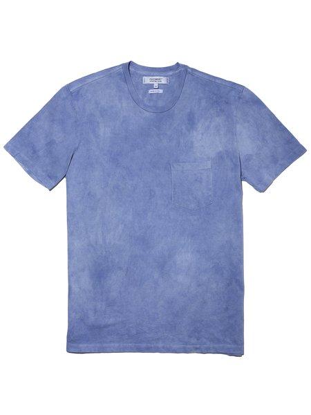 ADB Botanical X FSC Natural Dyed Pocket T-Shirt - Natural Indigo