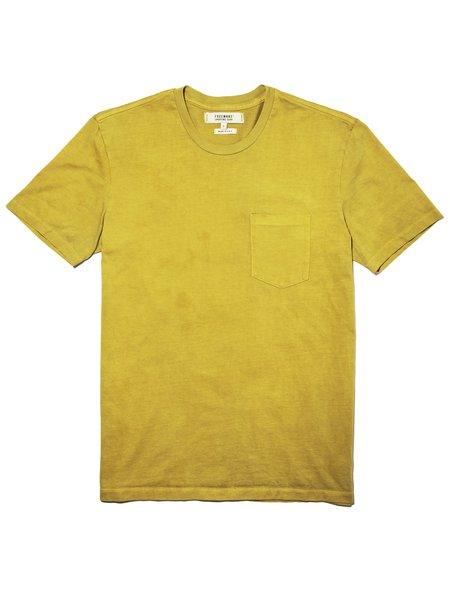 ADB Botanical X FSC Natural Dyed Pocket T-Shirt - Natural Marigold