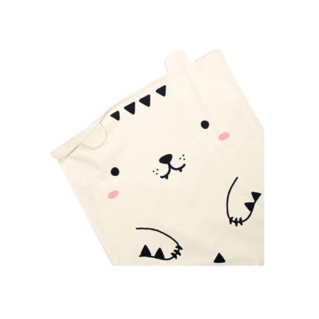 KIDS MADE OF SUNDAYS Tofu the Tiger Baby Blanket