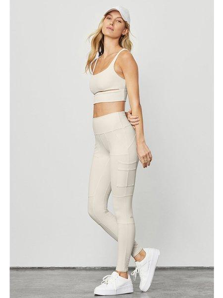 Alo Yoga High Wiast Cargo Legging - Bone