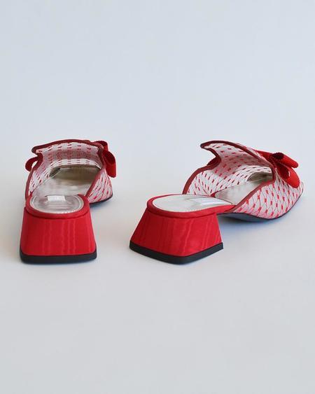 Vamp Shoes Suzanne Rae Reseau Mule