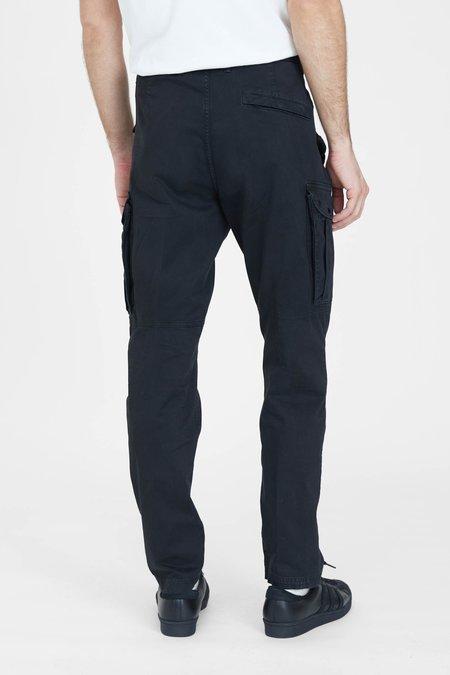 Stone Island Stretch Broken Twill Garment Dyed Cargo Pants - Black