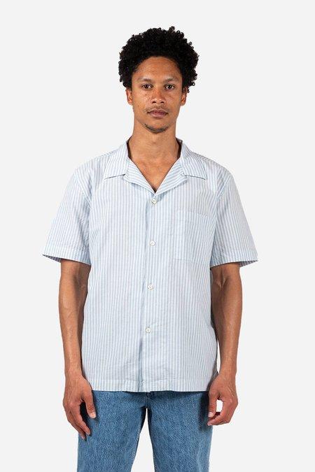 Knickerbocker Tall Pocket Camp SS Shirt - Sky Blue