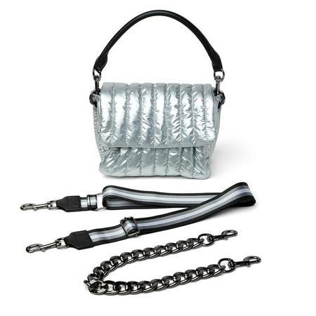 Think Royln Bar Bag - Pearl Silver