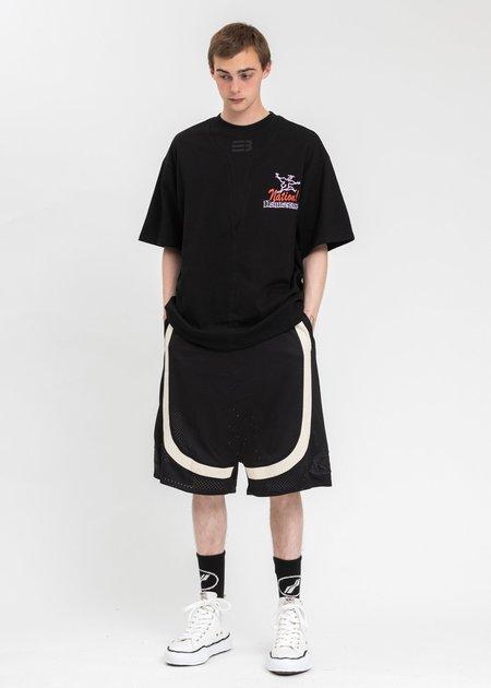 NAMESAKE Sava Oversized Vacay T-Shirt - Black