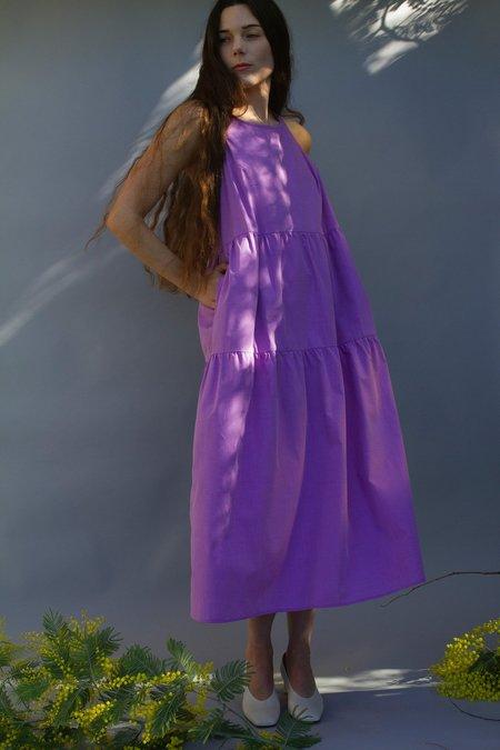 Juliette Fabbri Jo Nightdress - Lavender