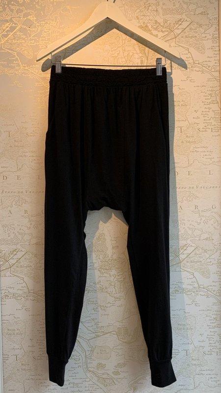 NSF Kendall Jersey Harem Pants - Black