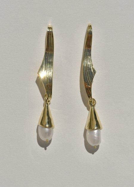 Leigh Miller Albariño Earrings - Brass