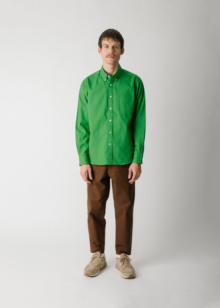 Steven Alan Classic Collegiate Shirt - Turf Oxford