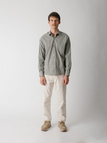 Steven Alan Reverse Seam Shirt - Forest Gingham
