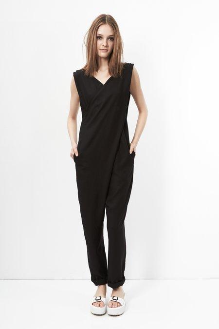 Anderst Gioia Crossfront Jumpsuit - black