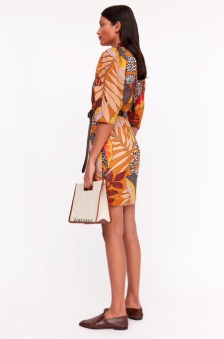 Roseanna Ursula Reed Dress - Brown/Multi