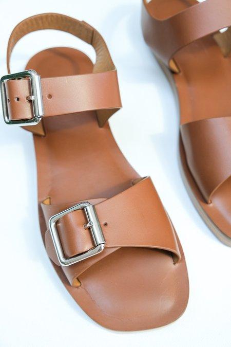 Rachel Comey Betta Vachetta Leather Sandal - Natural