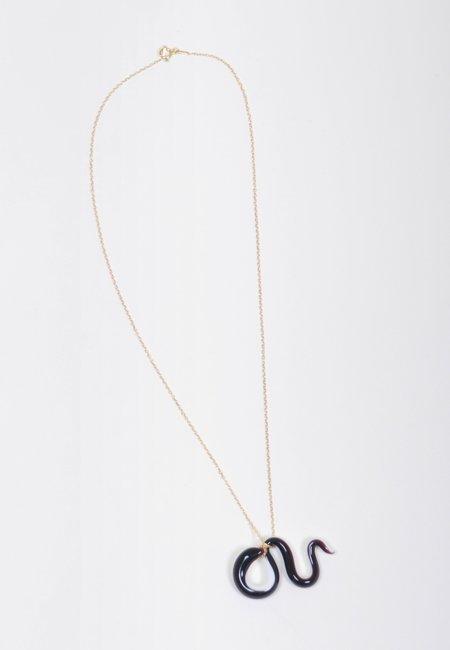 Ninfa Handmade Snake Necklace - balance