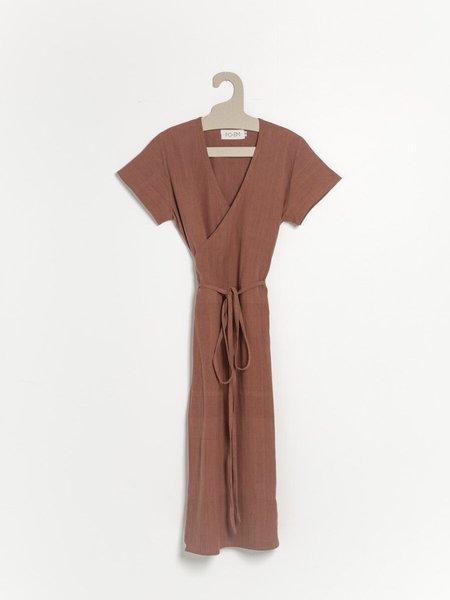 PO-EM Ode Dress - Terracotta