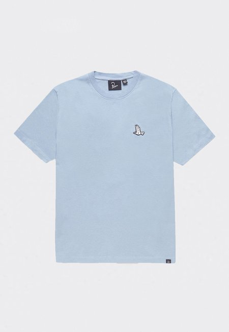 BY PARRA Mother Nature T-Shirt - dusty blue