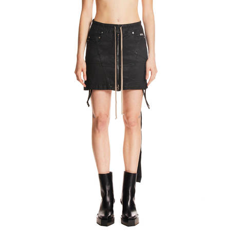 Rick Owens Drkshdw Mini Skirt
