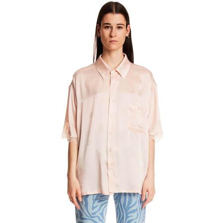 MARTINE ROSE Klene shirt - pink