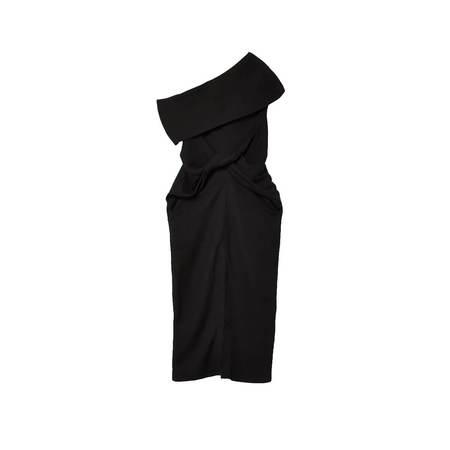 AMBUSH Front tied dress - black