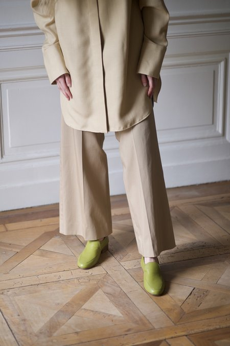 Anne Thomas Léo Nappa shoes - Aloé