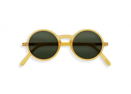 UNISEX Izipizi #G Sunglasses - Yellow Honey/green