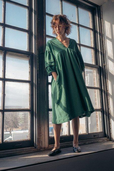 Ursa Minor Studio Viola Dress - Vine