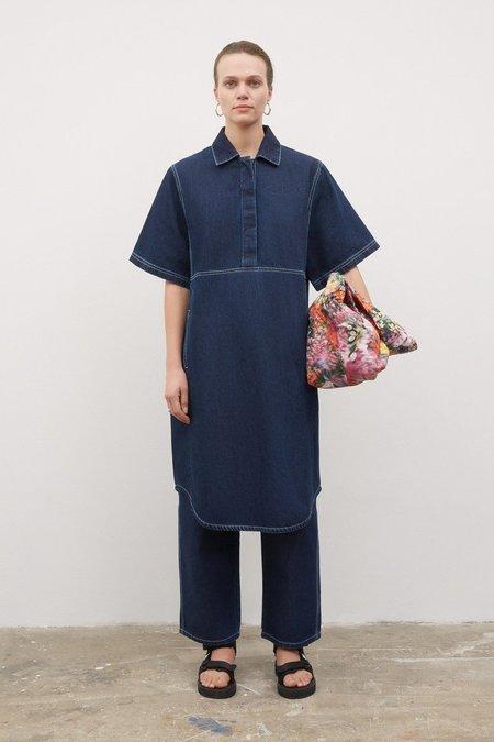Kowtow Journal Dress - Denim