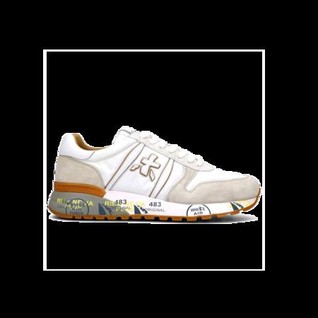 Premiata Lander-5199 sneakers - White/Beige