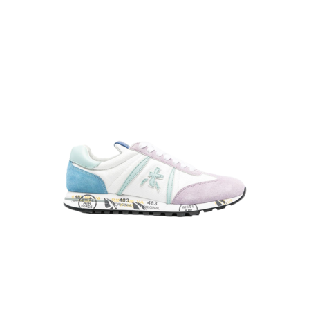 Premiata Lucy D Women LucyD-5101 sneakers - White/Blue/Pink