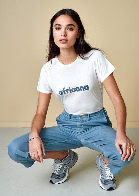 Bellerose Covi Africana T Shirt - White