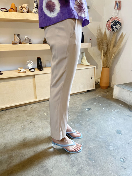 [Pre-loved] The Row Dusty Rose Silk Trouser