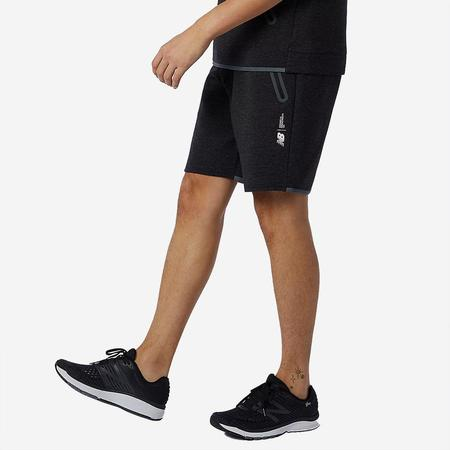 NB Athletics Fortitech Fleece Shorts - Black