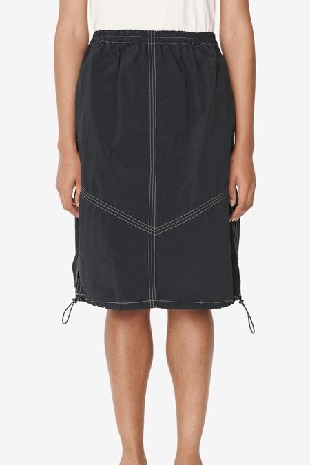 YMC Parachute Skirt - Navy