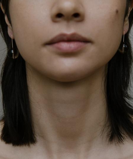 Vermeer Studio Genevieve Earrings - Gold/Quartz