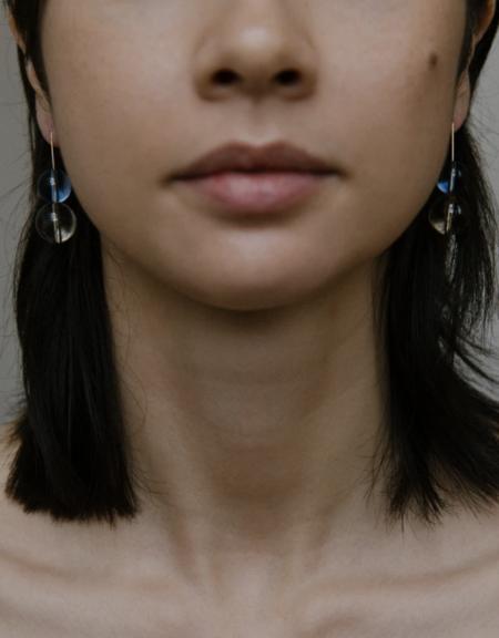 Vermeer Studio Miriam Earrings - Gold/Quartz