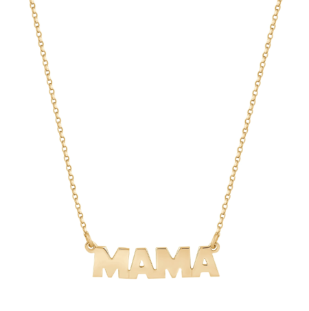 Electric Picks Mama Amour Necklace - Gold