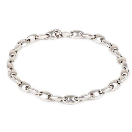 Unisex M. COHEN Mediano Neo Bracelet - Silver