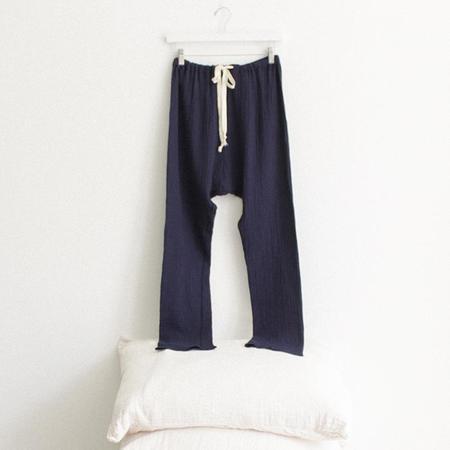 ADVICE Article Three Drawstring Pants - Lakeside Blue