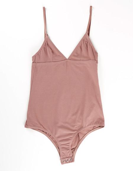 Nude Label Basic Bodysuit Taupe