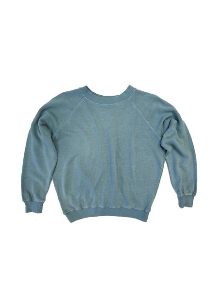 Jungmaven Bonfire Raglan Sweatshirt - Clay Green