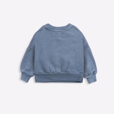 kids bobo choses cloud sweatshirt - blue